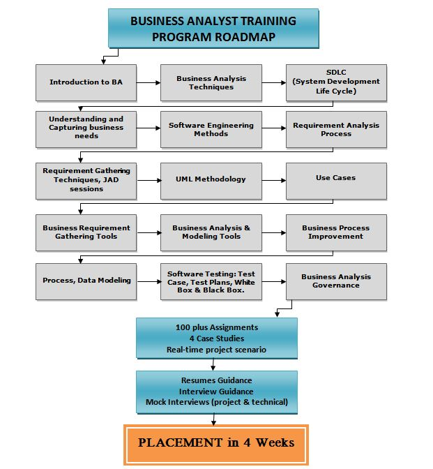steps in a business analyst project