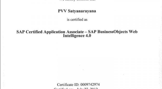 BO-Web-intellegence-Certifiction-Satyanarayana