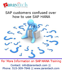 SAP customers confused over how to use SAP HANA (1)