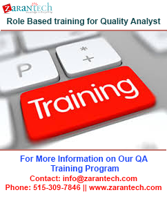 Role-Based-training-for-Quality-Analyst