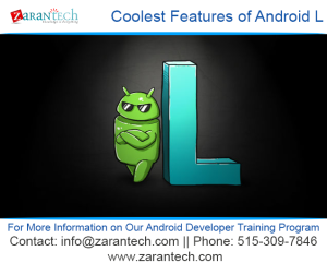 ZaranTech Android training