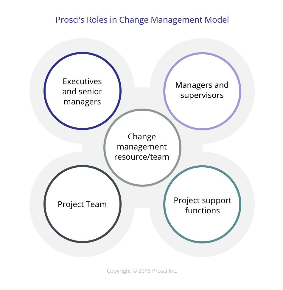 managers' role in implementing organizational change While there are a lot of project variables that impact a project's roi, change management plays a very important role in realizing organizational benefits.