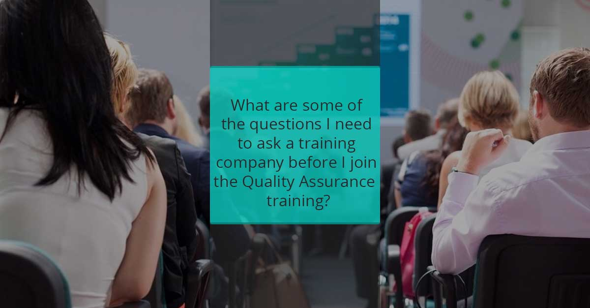 things to know about quality assurance training