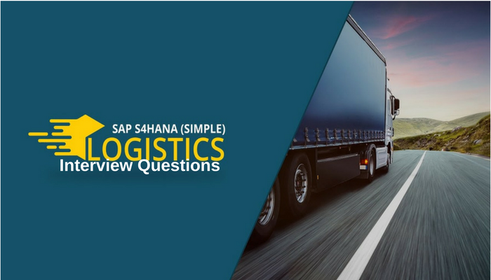 SAP S/4HANA Simple Logistics Interview Questions-Zarantech
