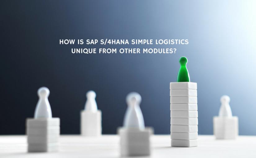 All You Should Know About SAP HANA Simple Finance Logistics