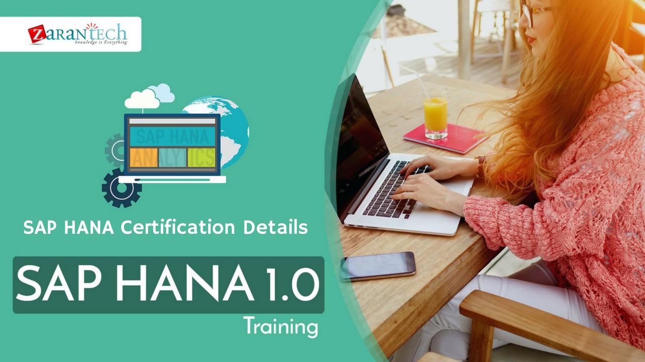 Sap Hana Certification Details Zarantech