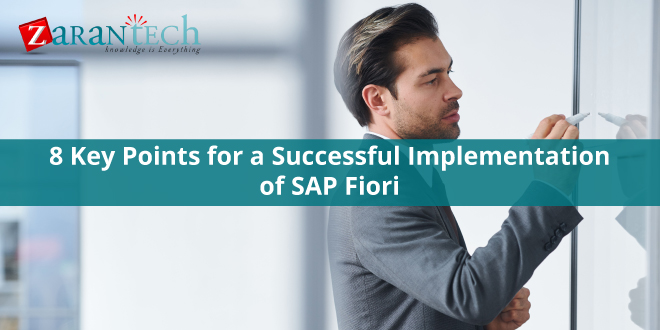8 Key Points for a Successful Implementation of SAP Fiori - Zarantech