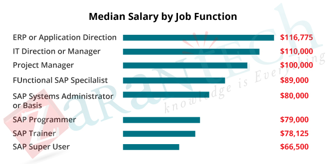 median salary by job function