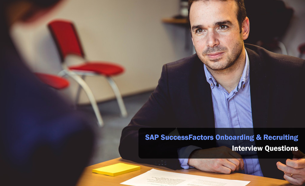 SAP SuccessFactors Onboarding & Recruiting Interview