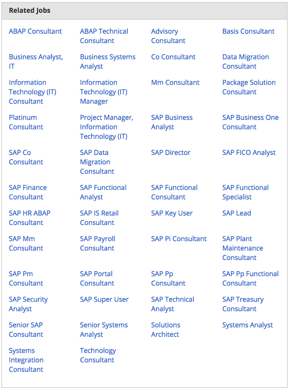 related-job-titles-for-a-sap-consultant